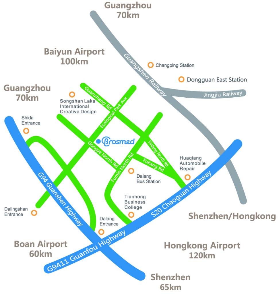 Map BrosMed
